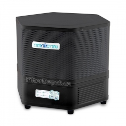 Amaircare 2500 Easy-Twist Air Purifier Slate