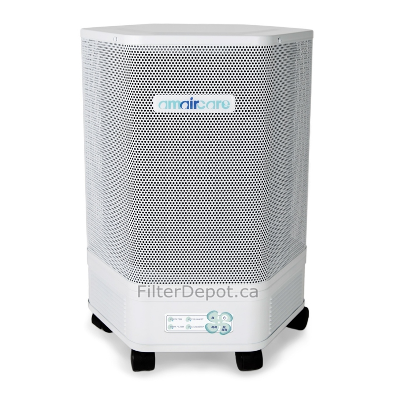 Portable Hepa Air Purifiers : Amaircare easy twist portable hepa air purifier