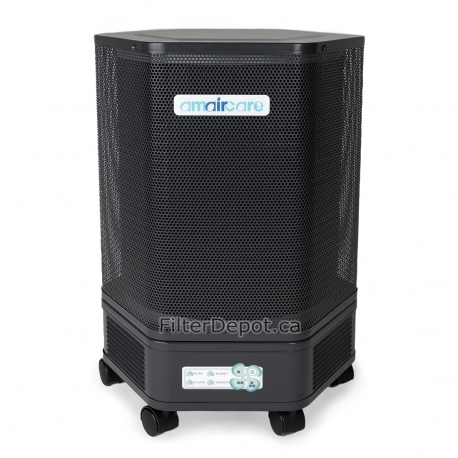 Amaircare 3000 Easy-Twist Air Purifier Slate