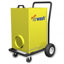 Amaircare 6000V AirWash Cart Heavy Duty Portable Air Purifier