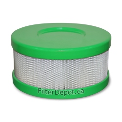 Amaircare 90-A-04GR-SO Snap-On HEPA Filter Green for Amaircare Roomaid Mini