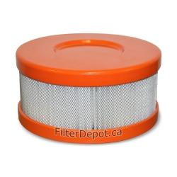 Amaircare 90-A-04OR-SO Snap-On HEPA Filter Orange for Amaircare Roomaid Mini