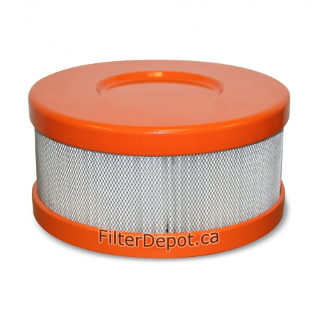 Amaircare 90-A-04OR-SO Snap-On HEPA Filter Orange for Roomaid Mini