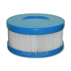 Amaircare 90-A-04CB-SO Snap-On HEPA Filter Blue for Amaircare Roomaid Mini