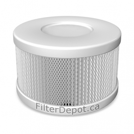Amaircare 90-A-53WP-SO Snap-On HEPA Filter Pure White for Roomaid Air Purifier