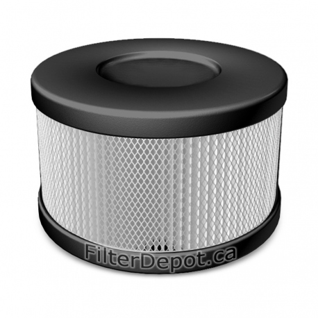 Amaircare 90-A-53BS-SO Snap-On HEPA Filter Black for Roomaid Air Purifier