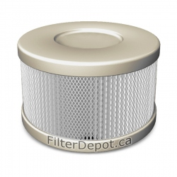 Amaircare 90-A-53SS-SO Snap-On HEPA Filter Sandstone for Roomaid Air Purifier