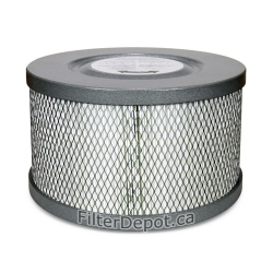 Amaircare 90-A-08ME-ET 8-inch Easy-Twist HEPA Filter