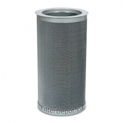 Amaircare 94‐A‐1602‐ET 16-inch Easy-Twist VOC Canister 100% Carbon
