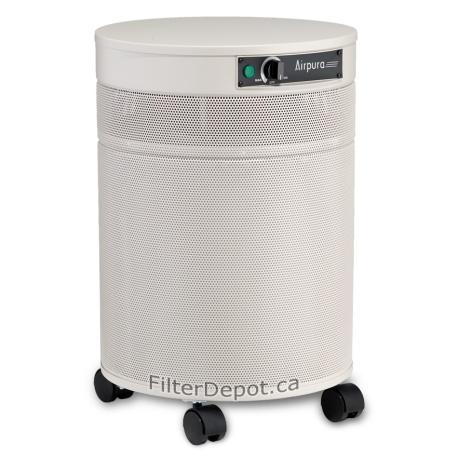 AirPura R600 All Purpose Air Purifier Cream Color