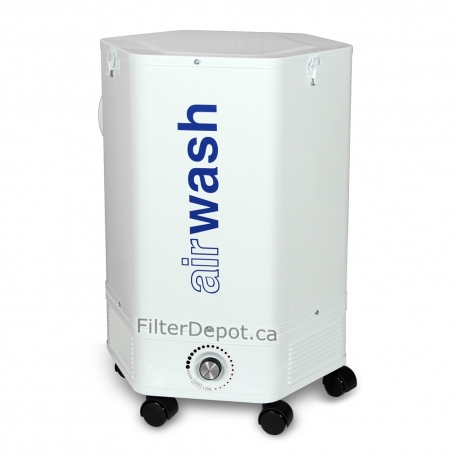 Amaircare 4000 VOC CHEM Air Purifier Front Angle View