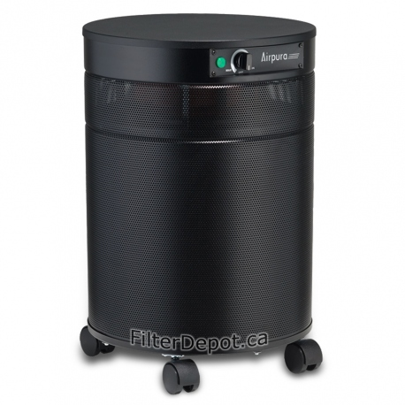 AirPura G600DLX Hyper Chemical Sensitivity Air Purifier Black
