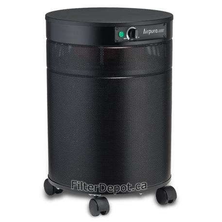 AirPura G600DLX Hyper Chemical Sensitivity Air Purifier Black
