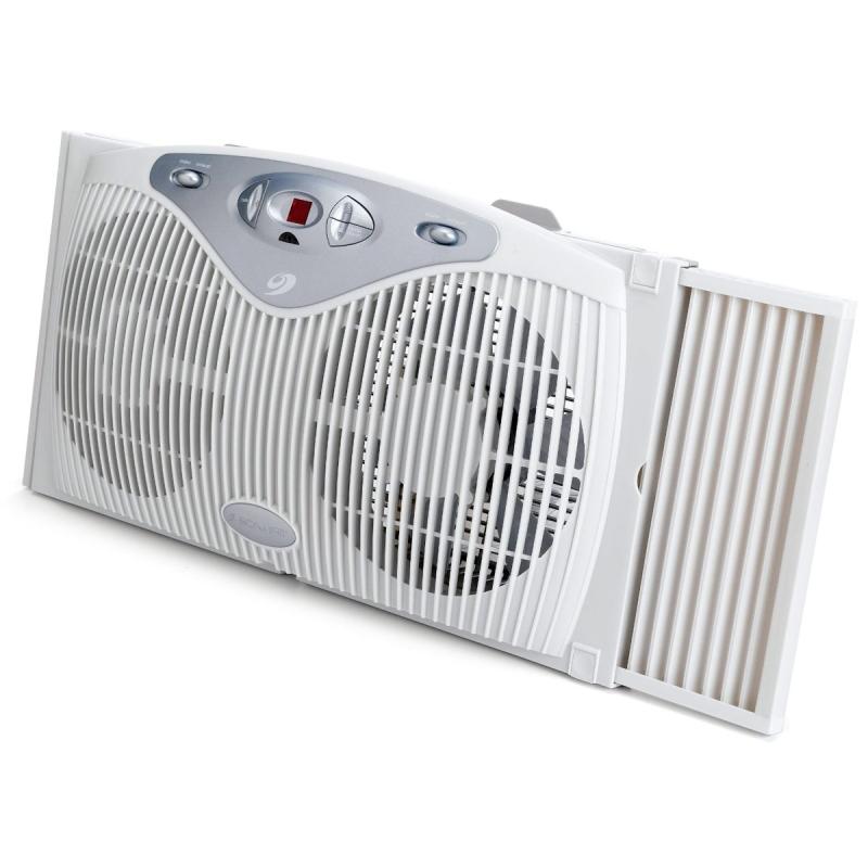 Bionaire Bw2100b Twin Window Fan With Digital Thermostat