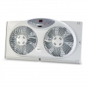 Bionaire BW2300 Remote Control Twin Window Fan with Digital Thermostat