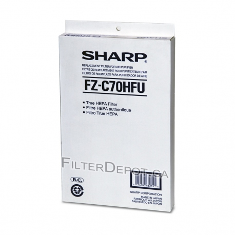 Sharp FZ-C70HFU (FZC70HFU) Replacement HEPA Filter