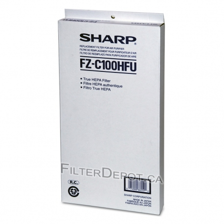 Sharp FZ-C100HFU (FZC100HFU) Replacement HEPA Filter