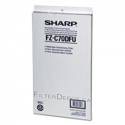 Sharp FZ-C70DFU (FZC70DFU) Replacement Carbon Filter