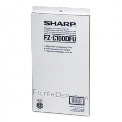 Sharp FZ-C100DFU (FZC100DFU) Replacement Carbon Filter
