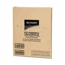 Sharp FZ-F60DFU (FZF60DFU) Replacement Carbon Filter