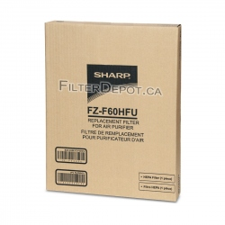 Sharp FZ-F60HFU (FZF60HFU) Replacement HEPA Filter