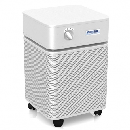 Austin Air HM402 Bedroom Machine Air Purifier White