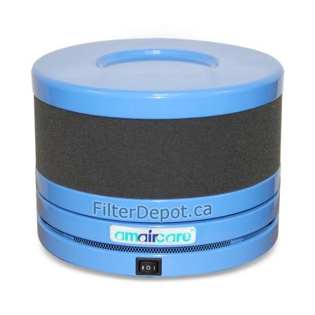 Amaircare Roomaid Mini Portable Air Purifier Blue