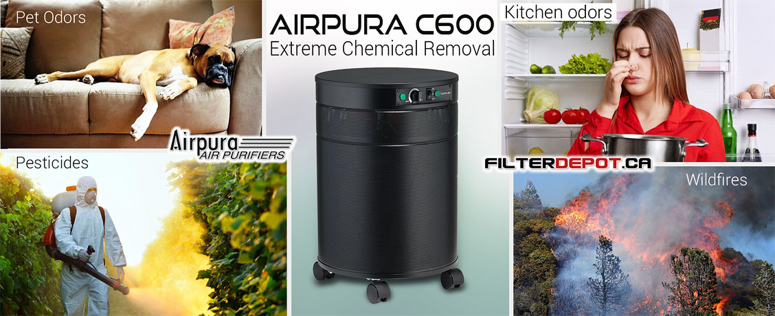AirPura C600 Extrene Chemical Removal Air Purifier