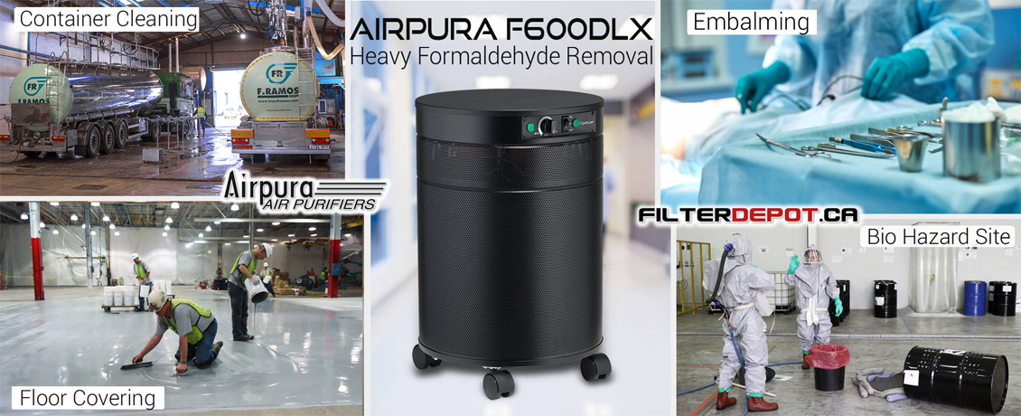 ArPura F600DLX Heavy Duty Formaldehyde Removal Air Purifier at FilterDepot.ca