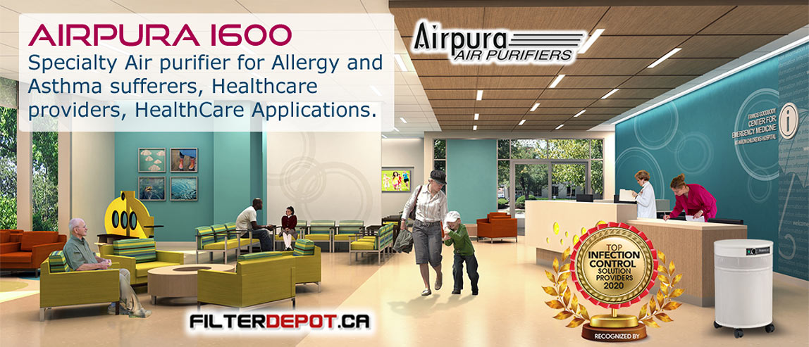 ArPura I600 HealthCare Air Purifier at FilterDepot.ca