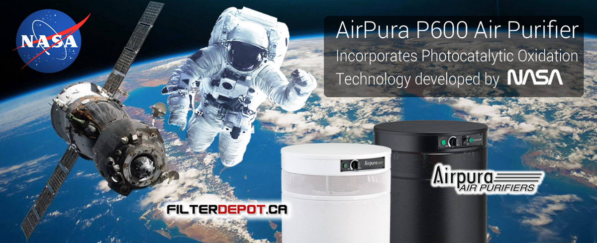 ArPura P600 Photocatalytic Oxidation Air Purifier at FilterDepot.ca