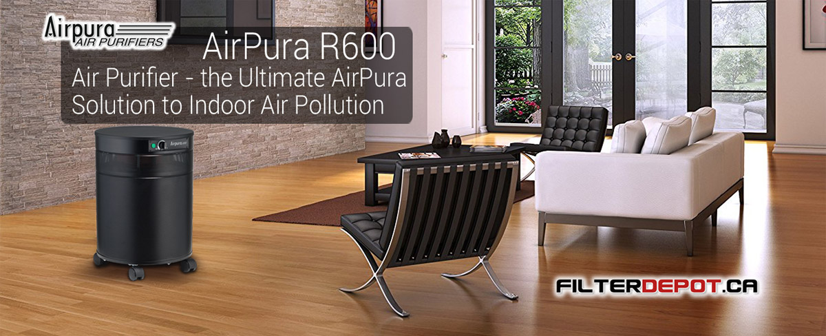 AirPura R600 All Purpose Air Purifier at FilterDepot.ca