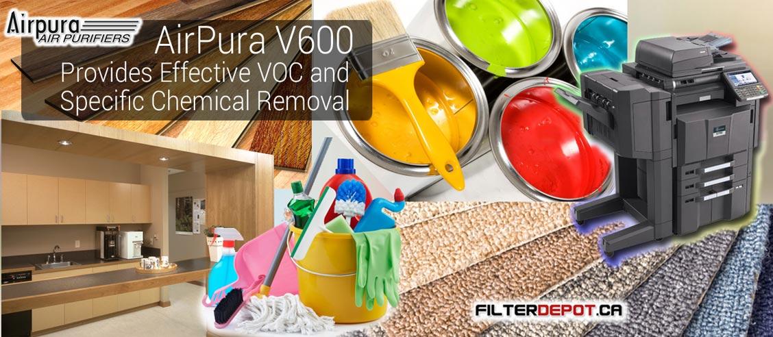 AirPura V600 VOC Removal Air Purifier at FilterDepot.ca