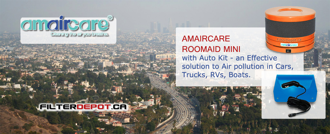 Amaircare Roomaid Mini with Auto Kit at FilterDepot.ca