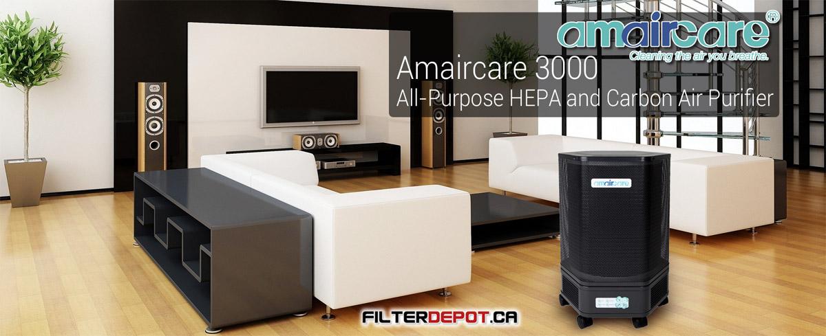 Amaircare 3000 Portable HEPA Air Purifier at FilterDepot.ca
