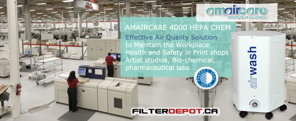 Amaircare 4000 HEPA CHEM Commercial Air Purifier at FilterDepot.ca