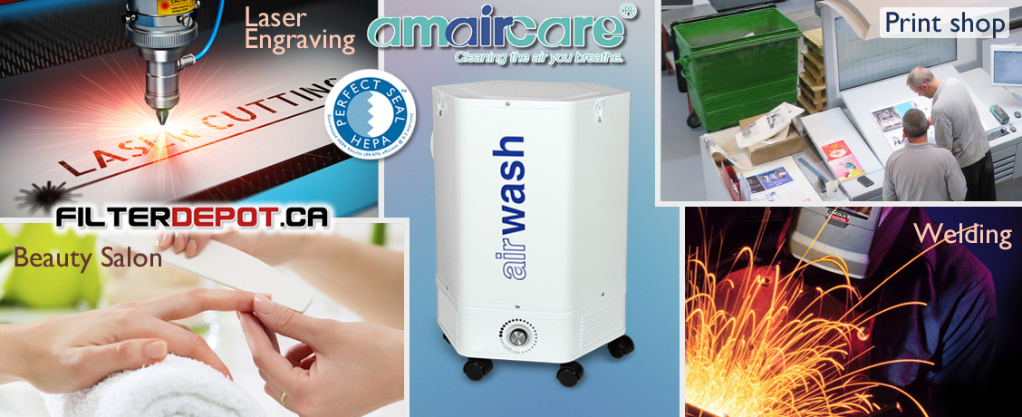 Amaircare 4000 VOC CHEM Commercial Air Purifier at FilterDepot.ca