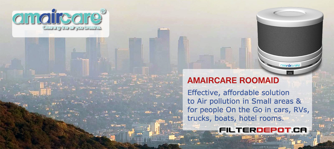 Amaircare Roomaid Air Purifier at FilterDepot.ca