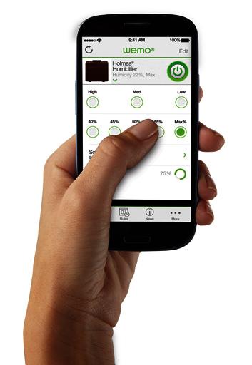 Holmes WeMo Smartphone app