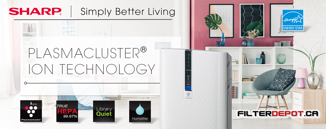 Sharp KC-850U Plasmacluster - Simply Better Living