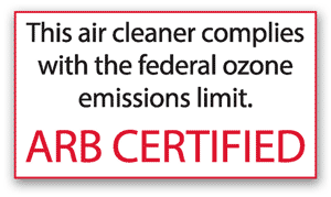 Sharp FP-P60UW Ozone Emission Compliance
