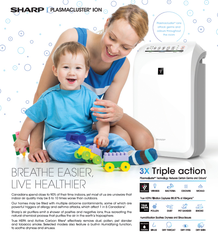 Sharp Plasmacluster Ion Mother and Child