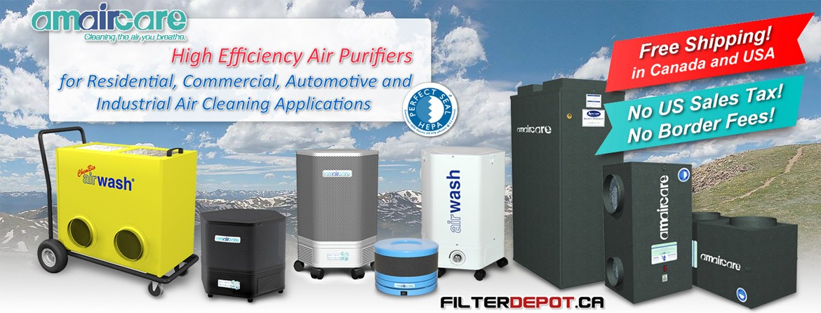 Amaircare Air Purifiers and Filter at FilderDepot.ca