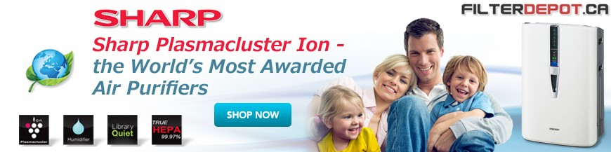 Sharp Plasmacluster Ion Air Purifiers