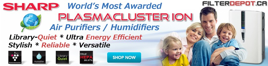 Sharp Plasmacluster Ion Air Purifiers / Humidifiers