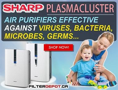 Sharp Plasmacluster Ion Air Purifiers
